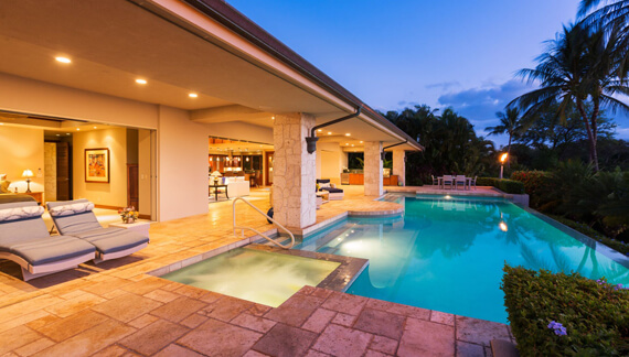 Tropical Scapes Pool Service are insured and licensed professionals.